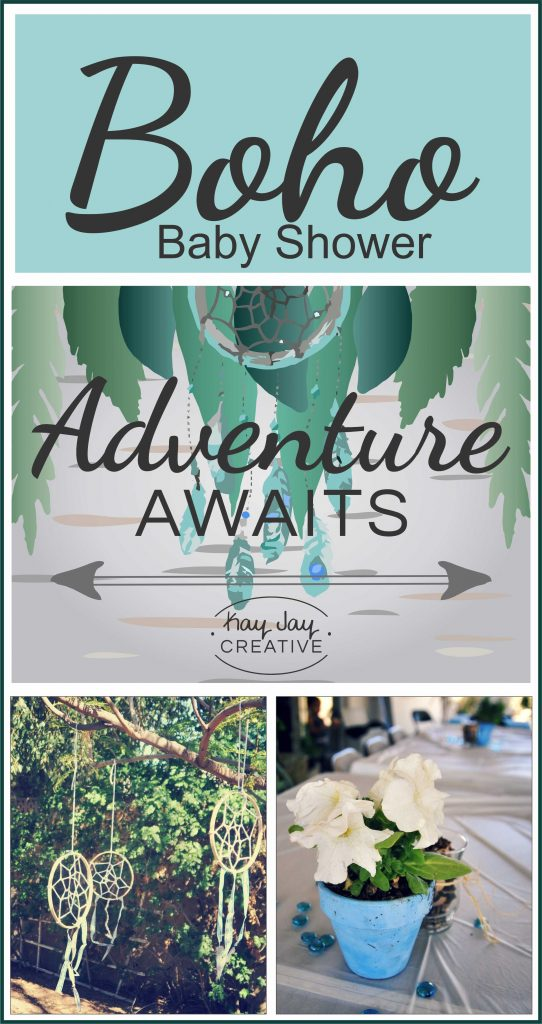 Plan a Boho Baby Shower printable party elements by Kay Jay Creative